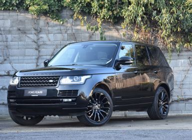 Achat Land Rover Range Rover Vogue Black Edition Occasion