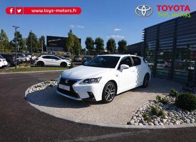 Achat Lexus CT 200h F SPORT Occasion