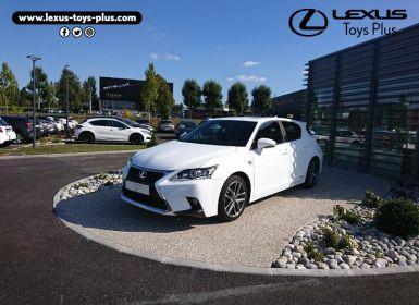 Vente Lexus CT 200h F SPORT Occasion