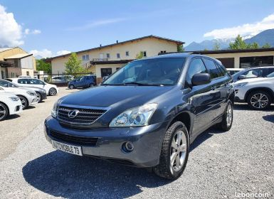 Achat Lexus RX Rx400h pack president 04/2006 GPS CUIR XENON TOE CAMERA Occasion