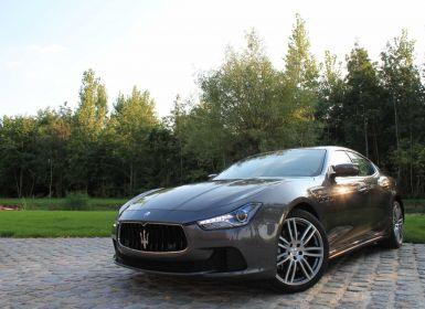 Vente Maserati Ghibli 3.0 D - NAVI - SPORT EXHAUST - LEDER Occasion