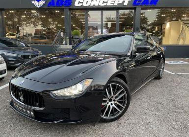 Vente Maserati Ghibli 3.0 V6 275Ch Occasion
