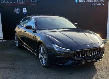 Vente Maserati Ghibli 3.0 V6 350ch GrandSport 256g Occasion