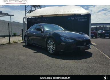 Vente Maserati Ghibli 3.0 V6 410ch Start/Stop S Occasion
