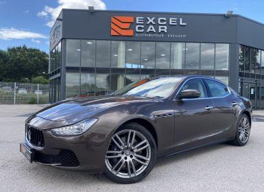 Achat Maserati Ghibli 3.0 V6 S Q4 Occasion