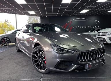 Maserati Ghibli GranSport 3.0 V6 350 Ch - Origine FRANCE - PREMIERE MAIN - TVA - 1.386 €/mois En LOA - Toit Ouvrant, Carbone, Pack Assistance Conducteur, ... Occasion