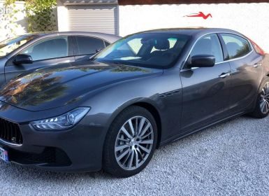 Vente Maserati Ghibli iii 3.0 v6 diesel 275ch / francaise / led / gps / camera / garantie Occasion