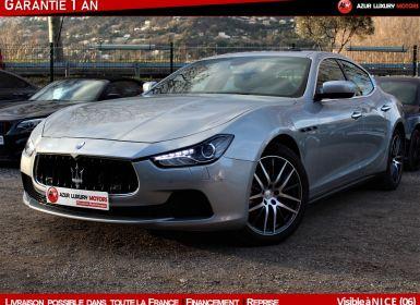 Vente Maserati Ghibli S Q4 3.0 I 410 CV PREMIERE MAIN Occasion