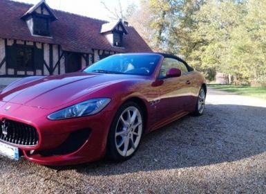 Vente Maserati Grancabrio 4.7 V8 460 SPORT AUTOMATIQUE(03/2014) 13.700 KLM Occasion