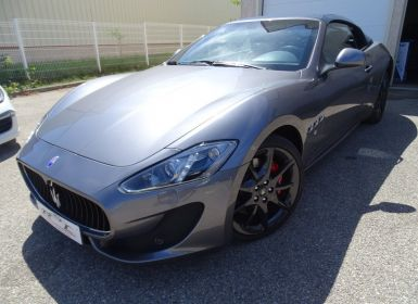 Vente Maserati Grancabrio 4.7L Sport 460Ps BVA ZF/Echap Sport Bi Xénon  PDC   Occasion