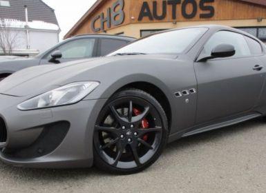 Vente Maserati GranTurismo boite f1 460ch 13680kms gris Occasion