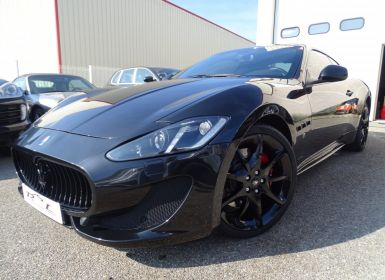 Vente Maserati GranTurismo SPORT 4.7L 460Ps F1/ Pack Carbonio + Matt black Look  Occasion