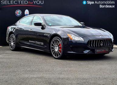 Vente Maserati Quattroporte 3.0 V6 275ch Start/Stop Diesel GranSport Occasion