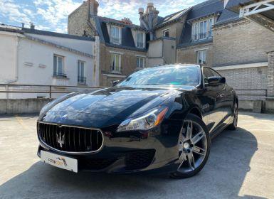 Achat Maserati Quattroporte 3.0 V6 410CH S Q4 Occasion