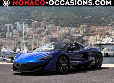 Vente McLaren 600LT Spider 3.8 V8 biturbo 600ch Occasion