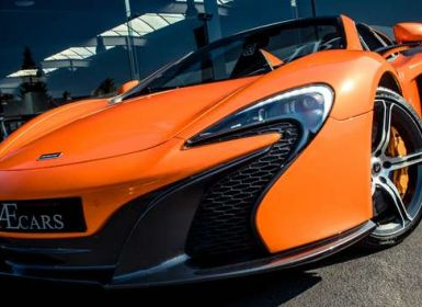 McLaren 650S Spider - CERAMIC BRAKES - FULL OPTION Occasion