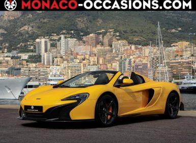 Voiture McLaren 650s Spider 3.8 V8 Biturbo 650ch Occasion