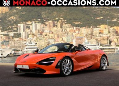 Voiture McLaren 720s Spider 4.0 V8 biturbo 720ch Performance Occasion