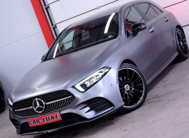 Mercedes Classe A 200 D 15OCV GRIS MAT PACK AMG BOITE AUTO GPS CUIR CAM
