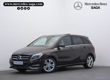 Vente Mercedes Classe B 180 d Sensation Occasion