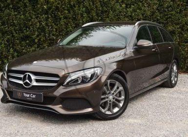 Vente Mercedes Classe C 200 D AMG LINE INTER. - TREKHAAK - FULL LED - LEDER - Occasion