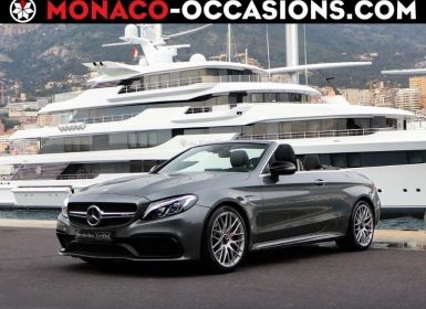Vente Mercedes Classe C Cabriolet 63 AMG 510ch Speedshift MCT AMG Euro6d-T Occasion
