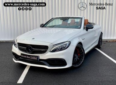 Voiture Mercedes Classe C Cabriolet 63 AMG S 510ch Edition 1 Speedshift MCT Occasion