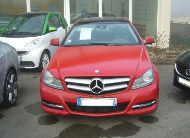 Voiture Mercedes Classe C III COUPE 220 CDI BLUEEFFICIENCY EXECUTIVE Occasion