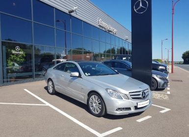 Vente Mercedes Classe E 200 CGI BE BA Occasion