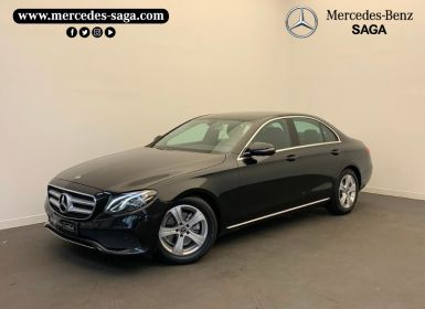 Vente Mercedes Classe E 200 d 150ch Business Executive 9G-Tronic Occasion