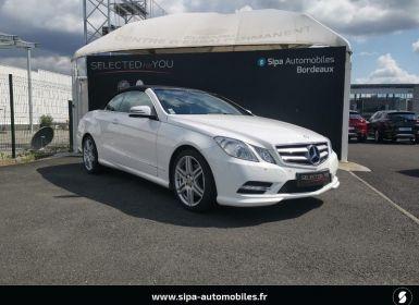 Vente Mercedes Classe E 220 220 CDI BE Occasion