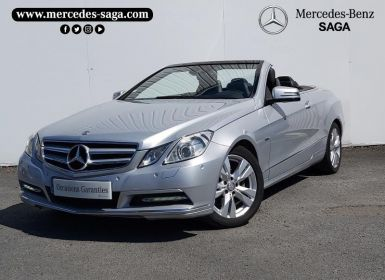 Vente Mercedes Classe E 220 CDI Executive BE BA Occasion