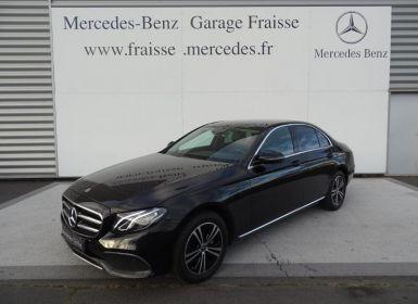 Vente Mercedes Classe E 220 d 194ch Avantgarde Line 9G-Tronic Euro6d-T-EVAP-ISC Occasion