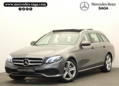 Vente Mercedes Classe E 220 d 194ch Executive 9G-Tronic Occasion