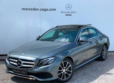 Vente Mercedes Classe E 220 d 194ch Fascination 9G-Tronic Occasion