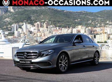 Vente Mercedes Classe E 220 d 194ch Fascination 9G-Tronic Occasion