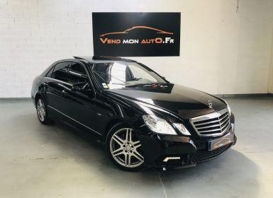 Vente Mercedes Classe E 300 CDI BLUEEFFICIENCY AVANTGARDE EXECUTIVE A Occasion