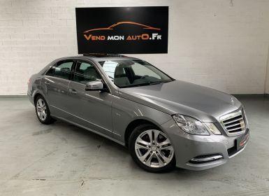 Vente Mercedes Classe E 350 BLUEEFFICIENCY AVANTGARDE EXECUTIVE A Occasion
