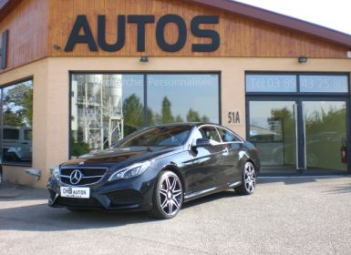 Vente Mercedes Classe E 350 bluetec coupe pack amg plus Occasion