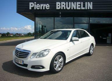 Vente Mercedes Classe E 350 CDI AVANTGARDE EXECUTIVE 7G-TRONIC + ATTELAGE Occasion