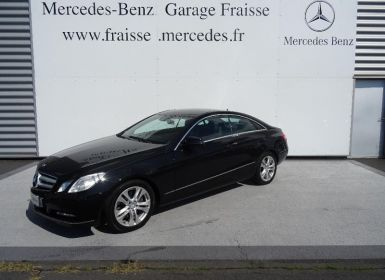 Achat Mercedes Classe E 350 CDI BE Executive 7GTro+ Occasion