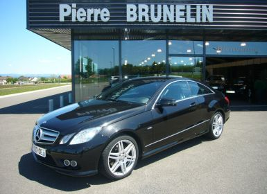 Vente Mercedes Classe E 350 CDI EXECUTIVE PACK SPORT AMG 7G-TRONIC Occasion