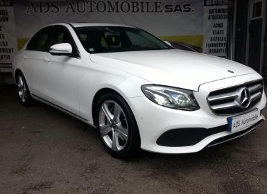 Vente Mercedes Classe E 350 D 9G-TRONIC Executive Occasion