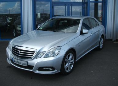 Vente Mercedes Classe E 4 IV 250 CDI BLUEEFFICIENCY AVANTGARDE EXECUTIVE BVA5 Occasion