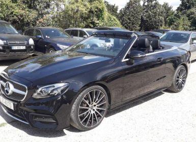 Vente Mercedes Classe E 5 CABRIOLET V CABRIOLET 220D SPORTLINE Occasion