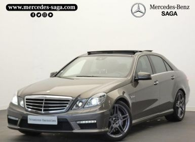 Achat Mercedes Classe E 63 AMG Occasion