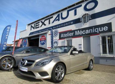 Achat Mercedes Classe E (A207) 200 184CH FASCINATION 7G-TRONIC PLUS Occasion