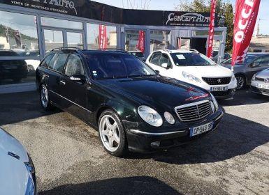 Vente Mercedes Classe E AVANTGARDE DESIGNO Occasion