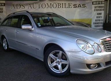 Vente Mercedes Classe E BREAK 280 CDI Elégance A Occasion