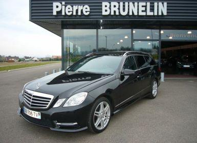 Vente Mercedes Classe E BREAK E 220 CDI AVANTGARDE EXECUTIVE - PACK SPORT AMG Occasion